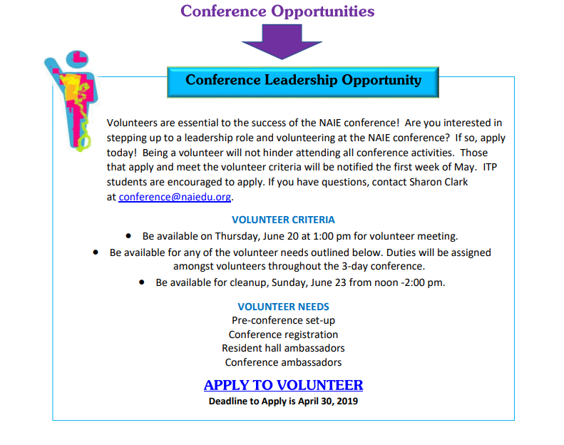 NAIE » Conference Opportunities