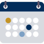Calendar icon in NAIE theme colors